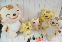 20CM,30CM,40CM, Plush Tigar Toys As Christmas Gift Mix Color & Size 3pcs/set +Gift&Free Shipping