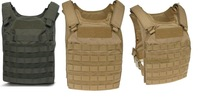 1000D Tactical Molle Fast Attack Plate Carrier Vest Protection NIJ III+ level