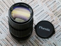 Phenix 135mm F/2.8 Manual focus Lens,MF lens,normal lens,PK Mount
