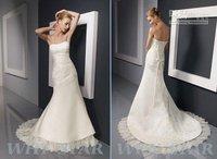 ladies wedding dres Factory price cheap Sale Wedding/Gown Bridesmaid Dress Strapless wedding dresses