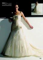 A-line Pretty  Bride Dresses ,bridesmaids dresses New fashion style  Bride Wedding