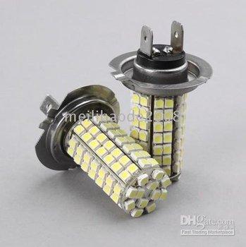 White SMD 96 LED 12V H7 Car Bulbs Lights Lamps 15pcs