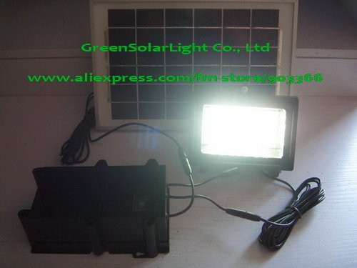 CE/SONCAP certificated Solar Lighting Kit GLIT-5W-D(28LEDs Flood ) Portable Solar Power System Solar Lighitng Power System