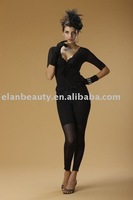 free shipping Good Quality one set 3D Slimming Bodysuit black color