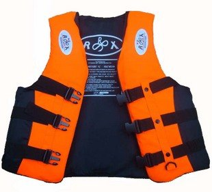 Wholesale 2pc 2010 new outdoor life jacket, high quality value for money, red outdoor survival suit / bathing suit 3 color