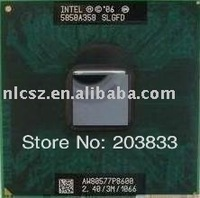Wholesales good quality laptop Pentium Intel CPU P8600 SLGFD free shipping best quality