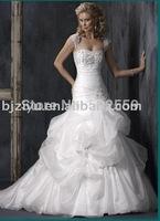 the latest fashionable style bridal wedding dress wedding gown
