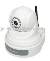 H.264 P/T Wireless IP CCTV Camera New Arrival Discount Shipping