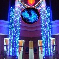 10 Meter/pc 80 Bulbs Star Blue Light/LED Garden Decoration Lights For Christmas Day +Gift & Free Shipping
