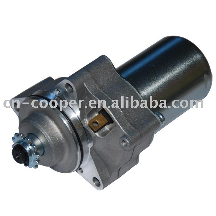 50-125cc Starter Motor,3 installation hole, ATV parts, Whole sale and Retail(China (Mainland))