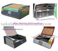 Mini Desktop Laser Engraving Machine With 40w laser tube