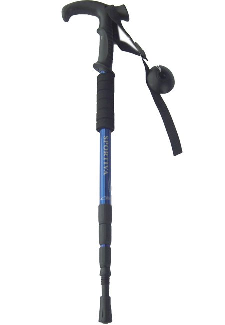 4pcs/Lot NEW Anti-shock Hiking/Walking Stick(4colors available)@free shippping(China (Mainland))