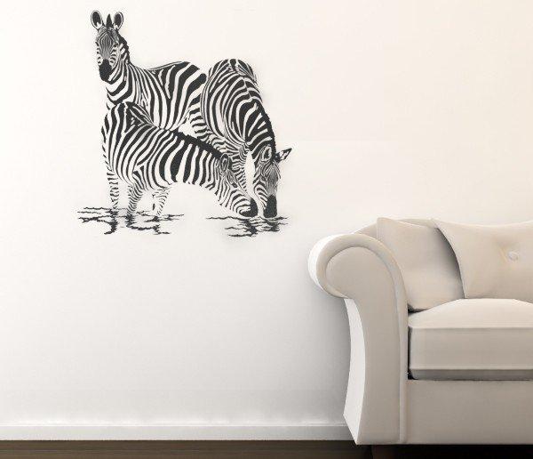 Zebra Wall Art Decals 63