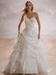k1157 2009 new style wedding dress(China (Mainland))