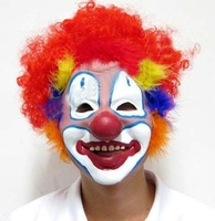 free shipping - Hallowmas All Saints' Day Crafts Gift . (20 pcs) hallowmas' clown mask and crimp
