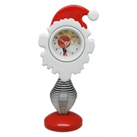 Free shipping  Christmas clocks  Santa Claus clock