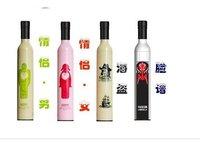 10pcs Free Shipping wine bottle umbrella
