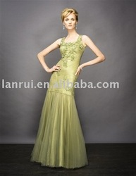 free shipping popular evening gowns LR-E1435(China (Mainland))