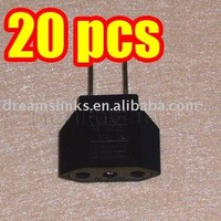 20PCS EU Europe To US USA Travel Charger Plug Adapter