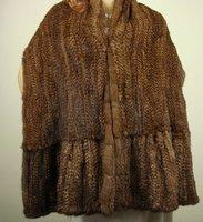 Free shipping/wholesale/Retail Fashion style 180 cm*40cm lady mink fur big shawl,fur stole