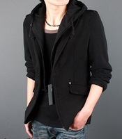 free shipping brand new Men's fashion leisure suit jacket Men's Jackets Outerwear size: M L XL XXL