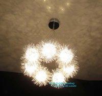 Free Shipping Fashion Modern 7 Light Shining  Star  Aluminum Cartoon  pendant lamp ,Lighting Fixture