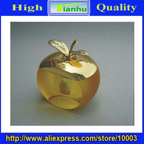 free shipping wholesale 5pcs/lot apple-shape perfume bottle.car/home decorative product-unique design,good gifts for others(China (Mainland))