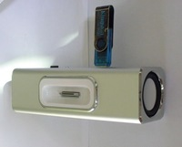 U-disk+TF Card Speaker for ipod/iphone