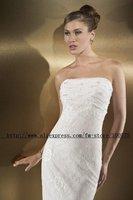 Free shipping good fashion bride lace wedding dress/good wedding dress/party dress/new wedding dress