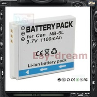 best replacement for NB6L NB-6L 1000mAh battery for Canon IXUS SX270 SD4000 SD1300 SD770 SD980 310 300 D20 SX240 SX260 HS PM057