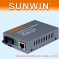 Free Shipping!!!Fast Ethernet Fiber Fibre Optic Media Multi-M Converter