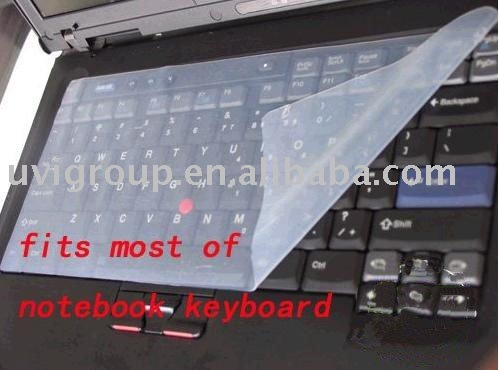 FREE SHIPPING 10pcs/lot Silicone notebook Keyboard Cover,Skin,protector 32cm*14.8cm for 7&#39;&#39; - 15&#39;&#39; laptop(China (Mainland))