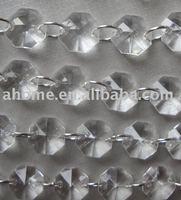 100 meter Acrylic Crystal strands / Octagon strands / Wedding Decoration Chirstmas Decoration