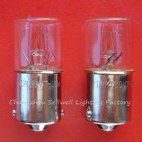 Free shipping NEW!Miniature bulb light 110/130v 7-10w Ba15s T16X36 A615