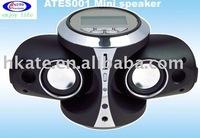 Best sell mini digital sound box speaker ATES001 free shipping ems