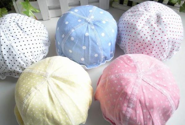 Cap / Hat Cotton five children, hat, baby hat, Name: five caps mixed batch free shipping(China (Mainland))