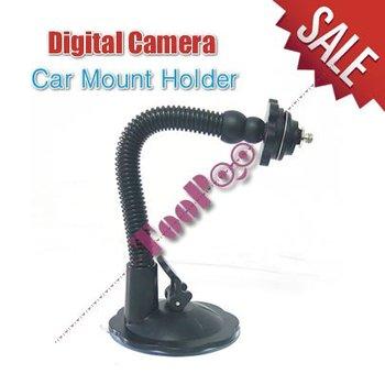 Auto Car Mount Holder For Digital Camera CAR DVR-Free Shipping