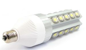 Cree Led 110~120lm/w,E40/E27 Base White 25W LED Corn Light 360 Degree