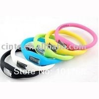 200pcs/lot fashion cheap negative digital silicon wrist band sports silicone watch free shipping