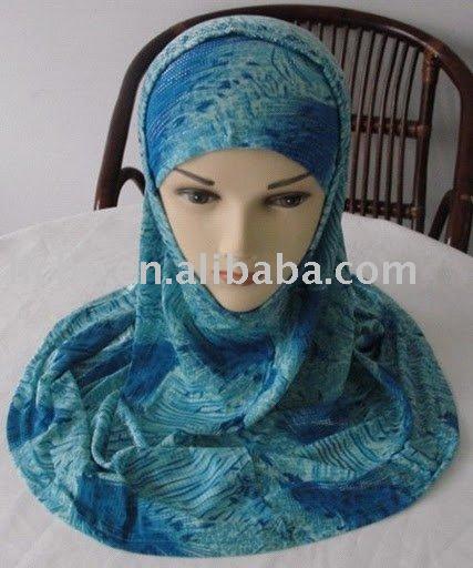 Hijabs,2 pieces hijab,New style scarf,Muslim hijab,Newest scarf,lyc2016(China (Mainland))