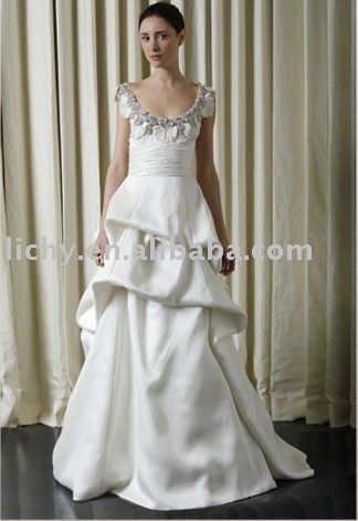 2010 new design brides apparel, wedding dress,wedding gown,bridal dress,bridal gown,dress for brida,accept ,lyc282(China (Mainland))