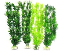 free shipping 4pcs 40cm fish tank plastic aquarium artificial plant