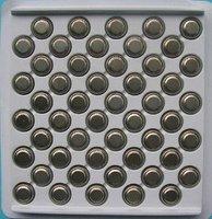 100pcs per lot AG13 LR 44 LR1154 A76 SR44 Cell Button Battery
