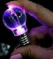 MINI LED Colorful Bulb Light Flashlight Key Chain Key Necklace 48pcs/lot+ Gift&Free shipping