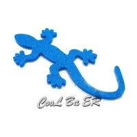 Car sticker (Gecko) 3d sticker,3M sticker/glue,chrome/electroplate
