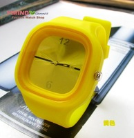 Candy color silicone children watch,Promotion+Free Shipping 10pcs/lot