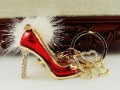 2010 fashion Fluff high-heeled shoes Chain free shipping  Wholesale 20pc/lot no 5