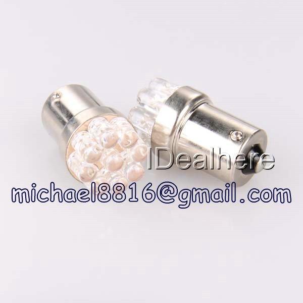 Wholesale 20pc/lot Super Bright Car LED Brake Lamp Backup lamp S25 BA15S 1156 9LED Free sample