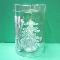 50pcs/lot freeshipping USB christmas tree LED lighting slow RGB light xmas tree lights Christmas tree