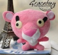 Nice Christmas Gift*Freeshipment* New Fashion Lovely Pink Panther Coin/Change purse Key Chain Wallet Toy